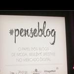 Evento #PENSEBLOG