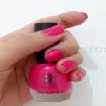 Esmalte da semana: Forever Pink