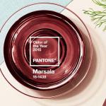 A cor de 2015: Marsala