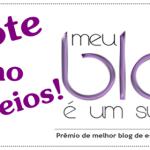 Prêmio Meu blog é um sucesso!