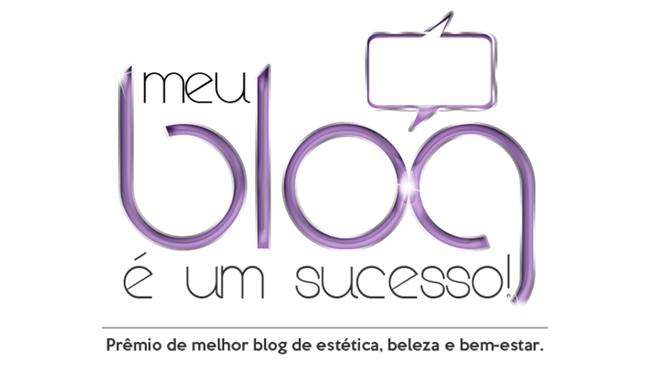 Logotipo Prêmio meu blog é um sucesso concurso fesbel