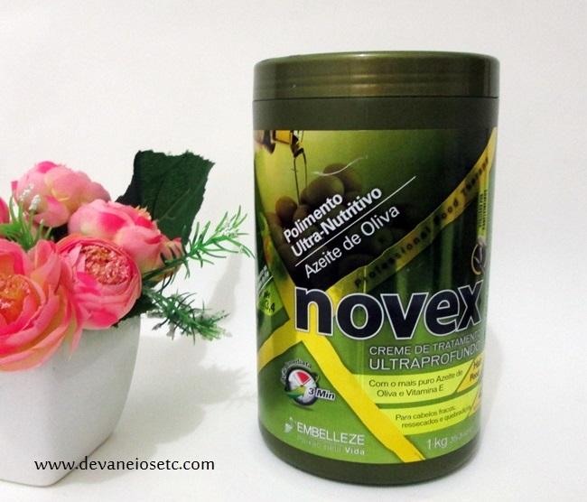 novex azeite de oliva