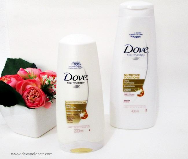 shampoo dove oleo nutrição