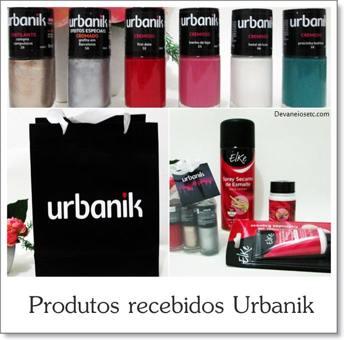 urbanik produtos recebidos