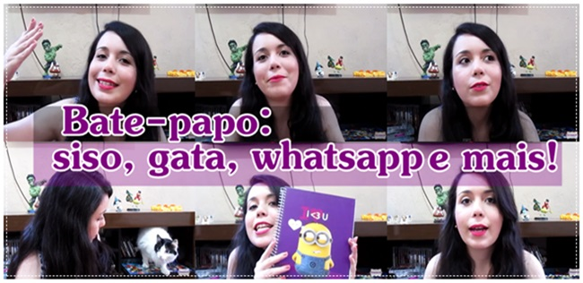 Bate-papo post video