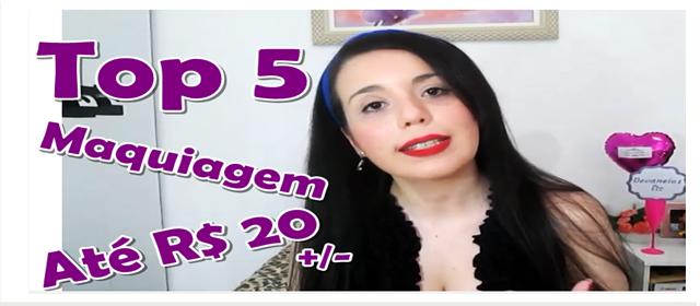 video top 5 produtos baratinhos indispensaveis de maquiagem devaneios etc por pris moraes