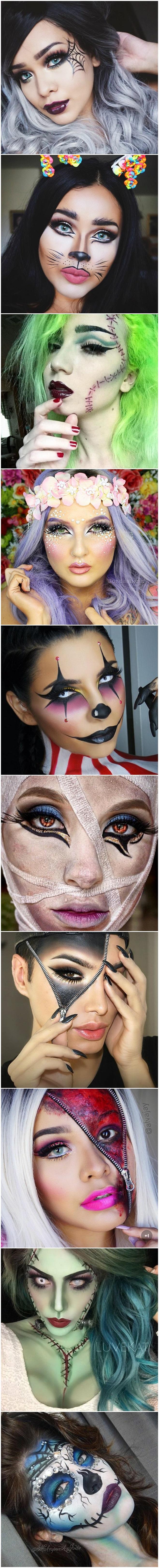 sugestão de maquiagem para o halloween makeup inspiration devaneios etc por pris moraes