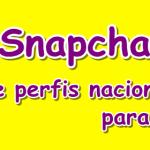 Snapchat e perfis legais para seguir