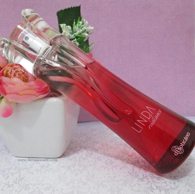 perfume linda radiance o boticário devaneios etc por pris moraes
