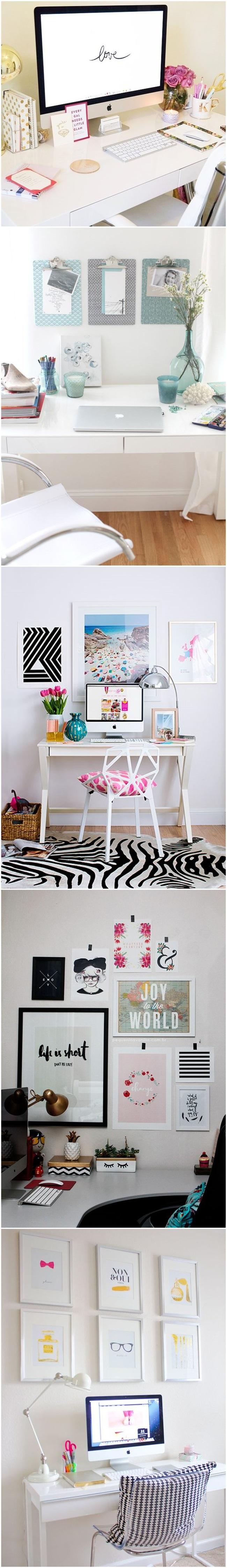 decoração home office