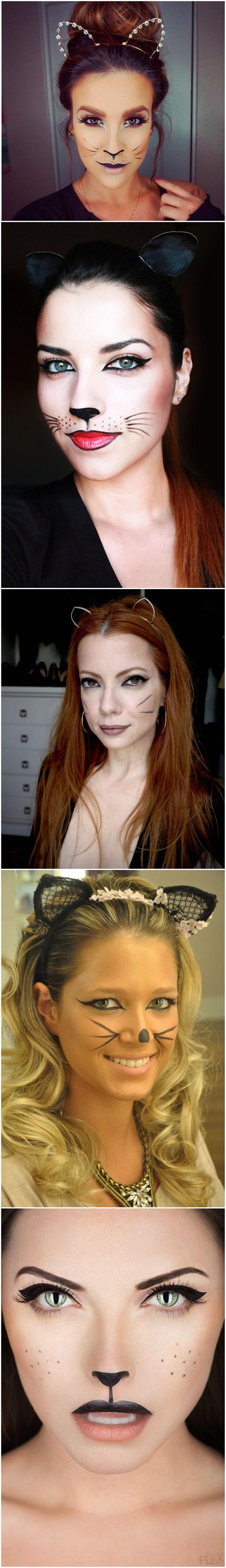 maquiagem para o carnaval make gatinha para o carnaval