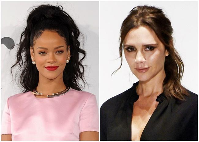 Maquiagem gringa - Rihanna e Victoria Beckham