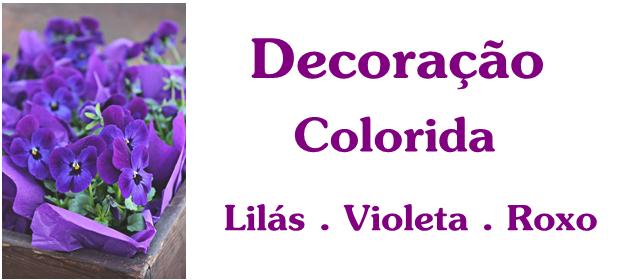 decoração violeta lilás roxo devaneios etc por pris moraes