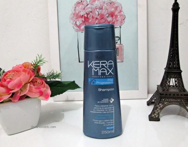 Linha Keramax Pós-Progressiva . shampoo . devaneios etc por pris moraes