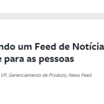 Mais mudança no Facebook