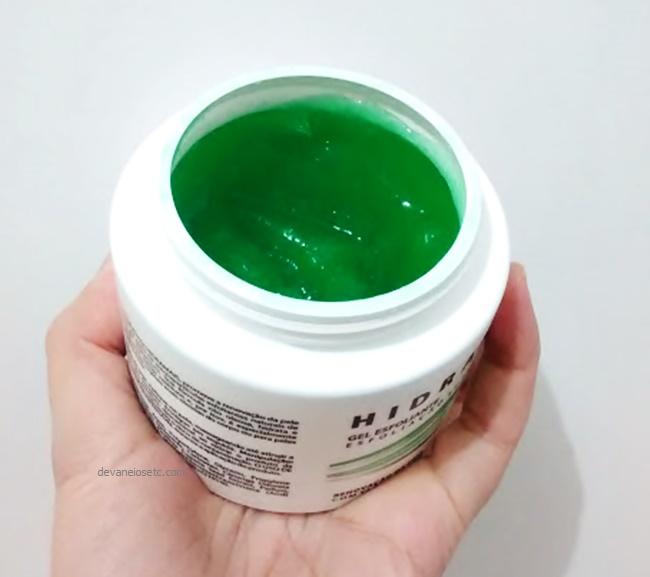 resenha gel esfoliante suave hidramais