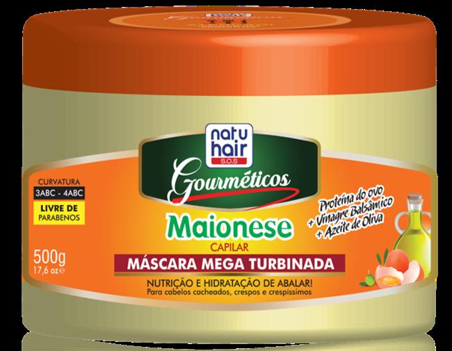Gourméticos Maionese - NatuHair da Skafe Cosméticos