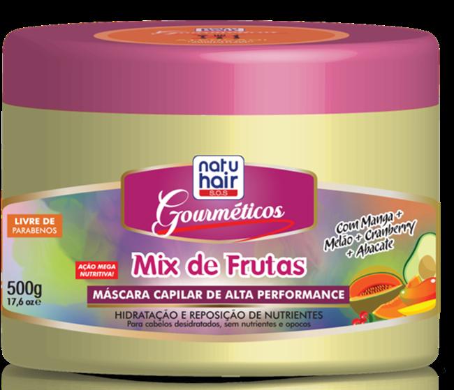 Gourméticos Mix de Frutas - NatuHair da Skafe Cosméticos