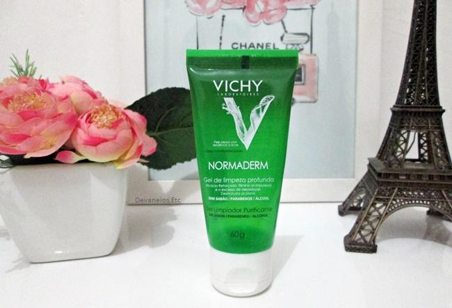 Normaderm Gel de Limpeza Profunda . Top 3 produtos para pele oleosa da Vichy
