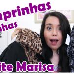 Comprinhas no site Marisa