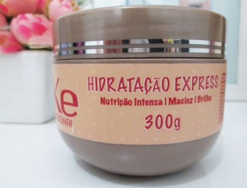 Máscara Hidratação Express da ILike Professional resenha 3