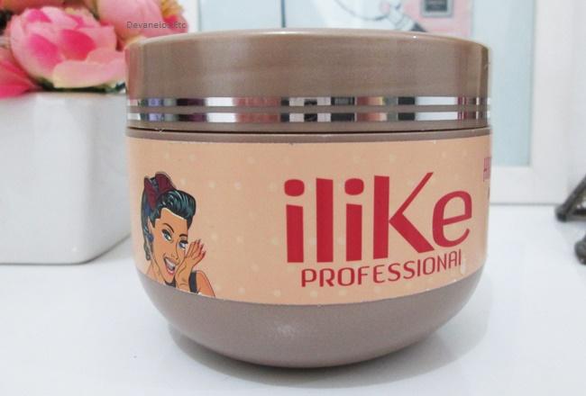 Máscara Hidratação Express da ILike Professional resenha 1