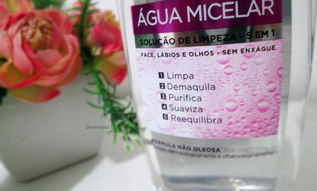 Água Micelar de L'Oréal Paris 5 em 1