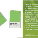 Greenery: Cor do ano 2017 pela Pantone