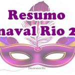 Resumo do Carnaval Rio 2017